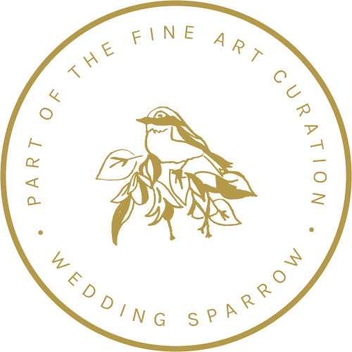 Image result for wedding sparrow badge