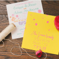 Wedding Stationary by June Bug Company