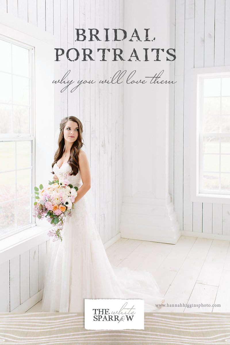 Bridal Portraits Why You Should Take Them The White