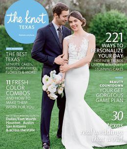 Published in THE KNOT TEXAS!