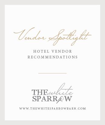 Wedding Venue Texas | The White Sparrow: Vendor Spotlight Hotels