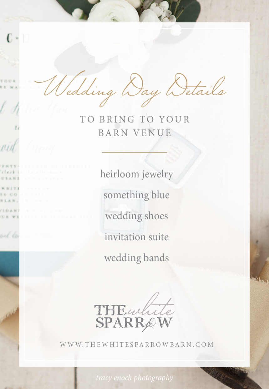 Barn Venue Texas: Details to Bring on your Wedding Day | The White Sparrow