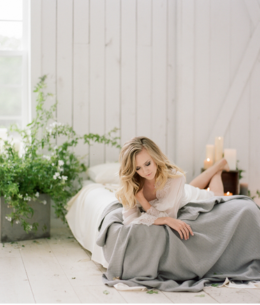 Early Morning Bridal Boudoir Inspiration
