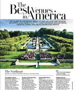 BRIDES Magazine Voted – The White Sparrow one of the BEST Venues in America!