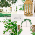 Texas Barn Wedding Venue | The White Sparrow, Pantone Greenery