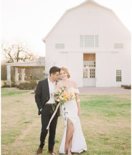 A Wedding Editorial Inspired by Shades of the Sun