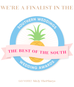 Best of the South Wedding Awards!!