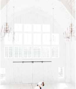 Dreaming of a White (Barn) Wedding