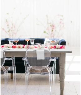 Innovative Ways to Use Lucite in Your Chic Modern Wedding