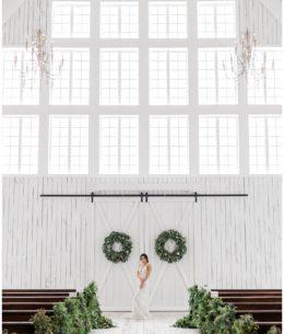 Beautiful New Year's Eve Wedding