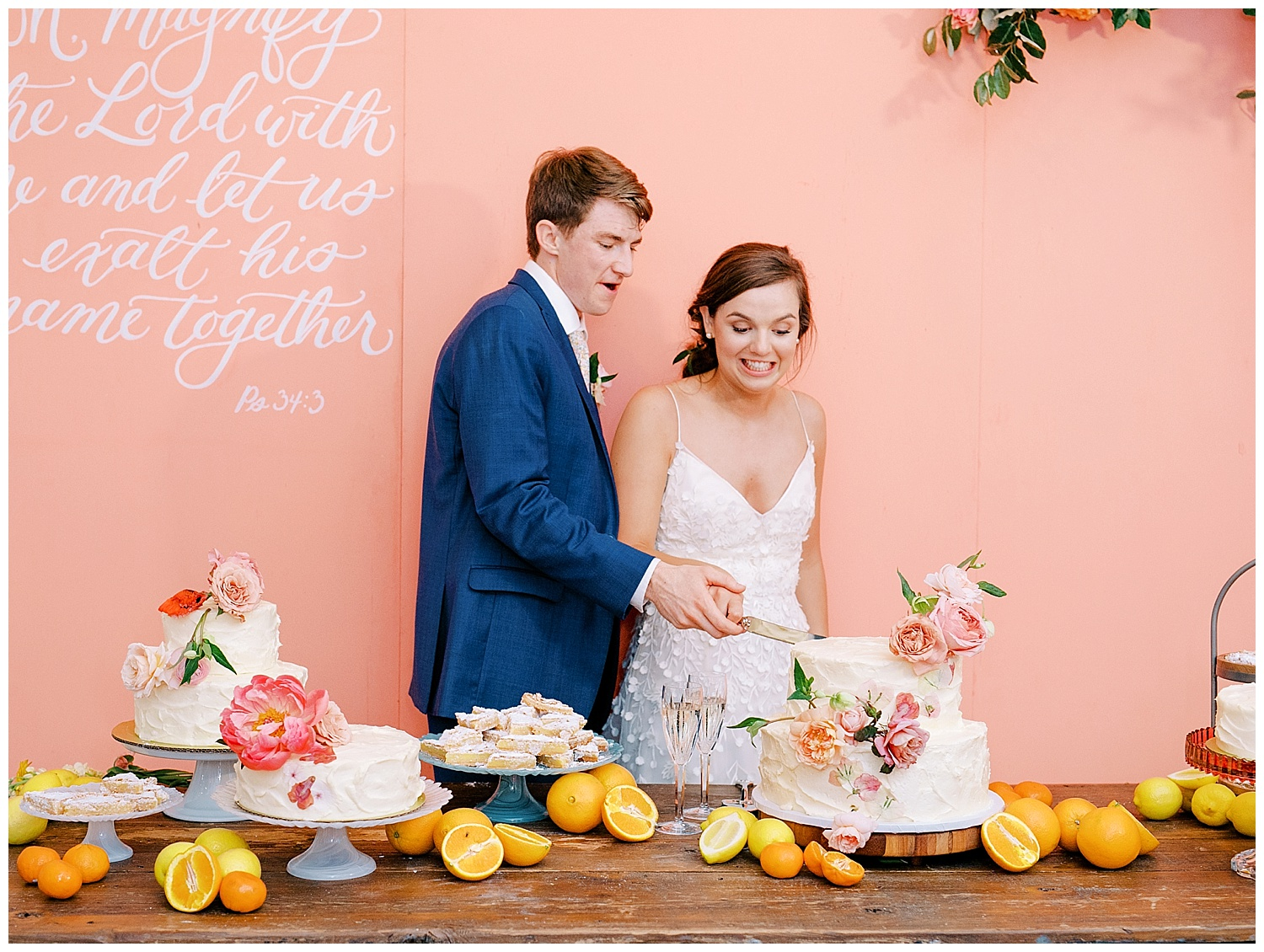 colorful weddings at the white sparrow wedding barn