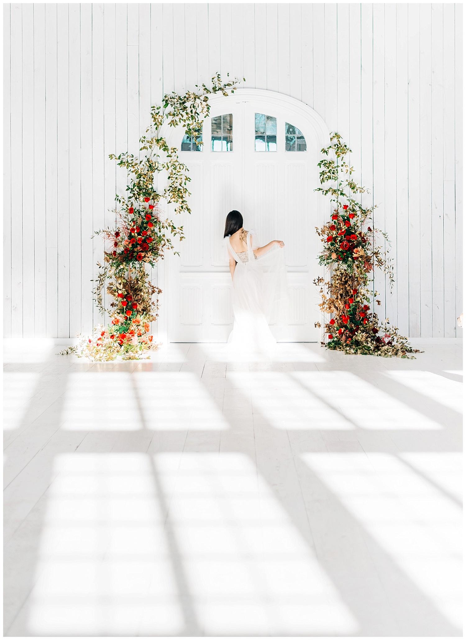 DFW blank canvas wedding venue